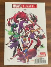 Marvel Legacy #1 1:25 Incentive Variant Cover - Women Of Marvel