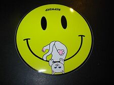 RIPNDIP Skate Sticker NERMAL SMILEY rip n dip skateboards helmets decal