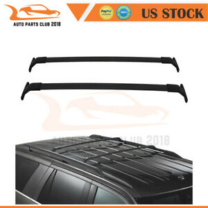 For 18-20 Lincoln Navigator Aluminum Cross Bar Top Baggage Cargo Luggage Carrier