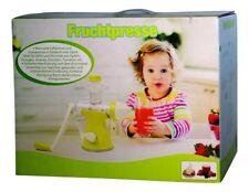 Fruchtpresse - Manuelle Saftpresse und Eismaschine für Obst und Gemüse