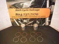 Indian Scout Piston Kit Pistons Rings Ring Dia 73.00 .020 Over Size