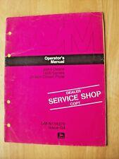 Original John Deere 1600 Series Drawn Chisel Plow Operators Manual Om N159370