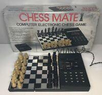 Rare Jeu D'échecs Chess Mate Computer Electronic Chess Game Fonctionnel