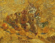 Gogh Van Vincent  Still Life With Quinces And Lemons Canvas 16 x 20   #5665