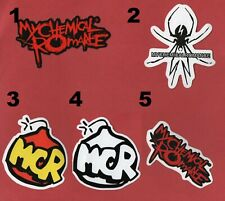 MY CHEMICAL ROMANCE STICKER Emo HEAVY METAL ALTERNATIVE rock POP punk HARDCORE