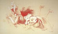 Jules Cheret: Joven Niña Para El Flor - Litografía Original, Firmada 1897