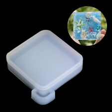 Silicone Mold Pendant Mould Resin Mudboard DIY Jewelry Making Tool Fondant Cake