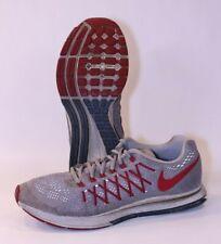 Men Nike iD Zoom Pegasus 32 Athletic Shoes Sneakers 8.5 Running Cool Grey ID GUC