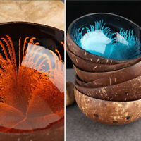 Nut Natural Tableware Coconut Shell Bowls Candy Dishes Storage Container Bowls