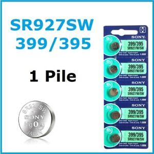 1 PILE SR927SW / SR927 / 395 / 399 / 1,55V SONY / ENVOI RAPIDE