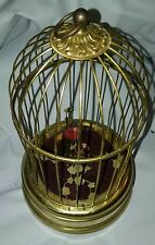 Vintage West Germany 1 Bird In Cage Automaton Music Box non working