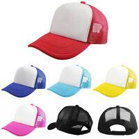 Men Women Adjustable Sport Blank Plain Snapback Hats Hip-Hop Sport Baseball Cap