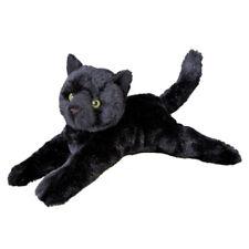 "Douglas TUG Plush BLACK CAT  Toy 14"" Stuffed Animal NEW"