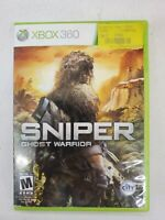 Sniper: Ghost Warrior (Microsoft Xbox 360, 2010)  Free Fast Shipping