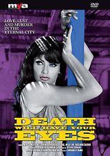 GIALLO HORROR DVDs DEATH WILL HAVE YOUR EYES Marisa Mell EVIL FACE Klaus Kinski