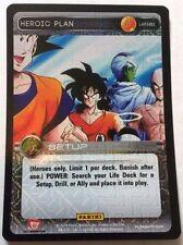 Dragon Ball Z DBZ TCG Panini UR161 Heroic Plan Ultra Rare (Premiere)