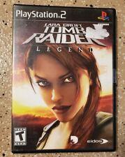 Tomb Raider Legend Ps2 Ebay