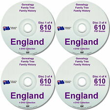 Family History Tree Genealogy England Free Postage