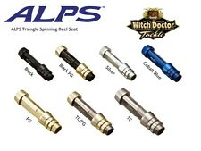 Alps Aluminum Triangle Spinning Reels Seat 6 sizes 7 Colors Ultimate Comfort