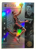 2019-20 Panini Illusions Holo Kz Okpala Rookie Card RC Refractor Miami Heat