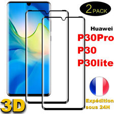 3D Full Verre Trempé Film Protection Ecran Total Huawei P30 Pro P30 Lite