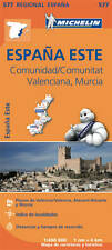 COMUNIDAD VALENCIANA , MURCIA MAP - NEW - MICHELIN 577 SPAIN REGIONAL 2018 EDITI