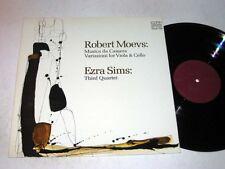 ROBERT MOEVS Musica Da Camera EZRA SIMS 3rd 4tet CRI NM