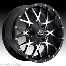 20x10 Dropstar 645 MB Wheels Rims Fit Chevy Silverado FORD F150 645MB-2106819