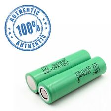 2 Authentic Samsung 25R 18650 2500mAh  Rechargeable Battery for Flashlight