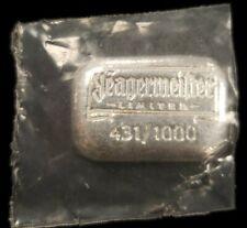 1 oz 999 Silver Bar - Yeagermeifter - Sealed 431/1000 - SKU-F1280
