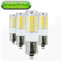 4x Natural White 1156 1141 1003 LED Light Bulb BA15S 51-SMD for RV Indoor Light