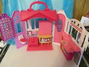 2014 Mattel Barbie Glam Getaway Fold N' Go House EXCELLENT