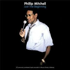 PHILLIP MITCHELL Just The Beginning  NEW SEALED 70s SOUL CD (GRAPEVINE) NORTHERN