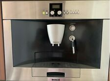 Bosch built-in coffee machine stainless steel great condition