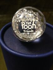 Winnie The Pooh Total Plaque From Swarovski Crystal-#0905772