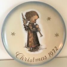 Schmid - Collector Series Plates - Christmas Angel - Limited Edition 1972