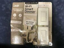 Feit Electric Wi-Fi Smart Dimmer 3-Way Single Pole Switch Alexa Google Assistant