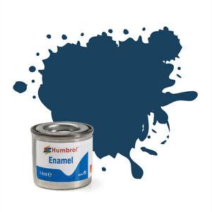 Humbrol AA1153 Enamel Pas De 104 Oxford Bleu Matt (14ml) Modélisme