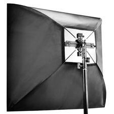 walimex Set 4fach Blitzhalter inkl. Softbox 90x90cm und Tasche