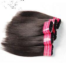 300g/6bundles virgin straight brazillian human hair short 8inches