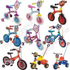 "Fireman Sam 12"" Bike Pedal Bicycle Ride Stabilisers Kids Boys Ages 3"
