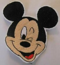 Disney Mickey Mouse sew on motif for Knitting/Sewing/Crafts and card making