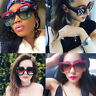 Women Sunglasses Luxury Square Gradient Lens Oversized Shades Hot Eyeglasses TC