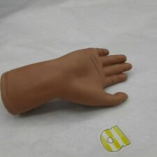 Reproduction Doll Part Porcelain Brown Right Hand for New Doll or Replacement A