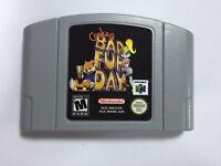 Bad Fur Day Game Cartridge Consoles PAL EUR Version For Nintendo N64