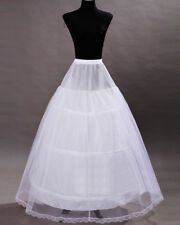2019 3 Hoop Wedding Petticoat For Wedding Bridal Underskirt Crinoline