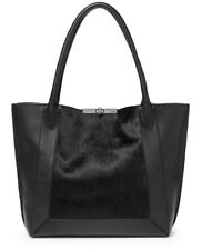 NWT Botkier Perry Tote, Black Haircalf, MSRP: $348.00, Gunmetal Hardware