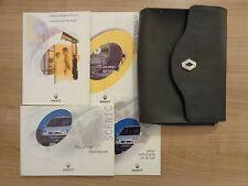 Renault Scenic Owners Handbook/Manuel et Pack 00-03