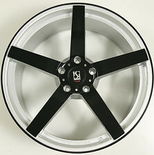 KOKO KUTURE SARDINIA 5 22 x 9.0 SILVER B RIMS WHEELS CHRYSLER 300 300C AWD