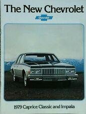 Chevrolet Caprice Classic & Impala USA Sales Brochure - July 1978